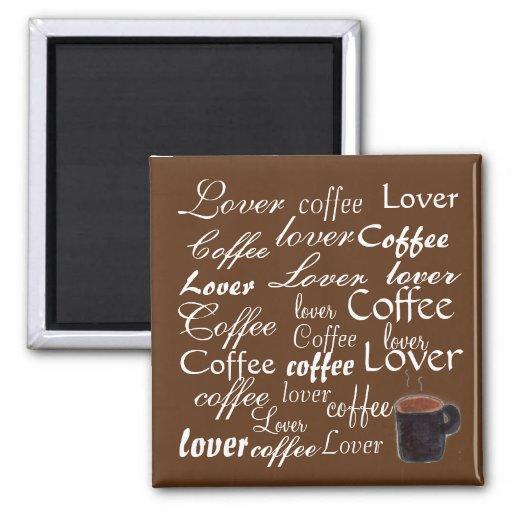 Amante do café - ímã ima