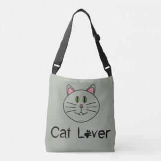 Amante do gato bolsas carteiro