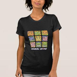 Amante dos animais camiseta
