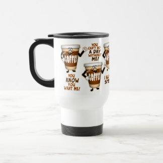 Amante engraçado do café canecas