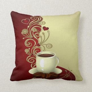 Amante moderno do café almofada