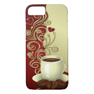 Amante moderno do café capa iPhone 7