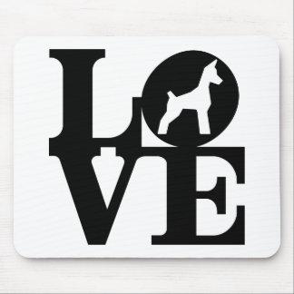 Amante Mousepad do cão