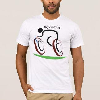 Amantes da bicicleta camiseta