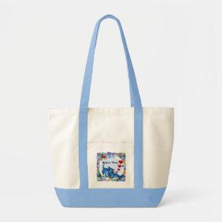 Amantes de livro bolsa para compras