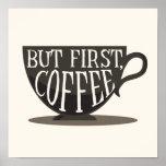 Amantes do café mas primeiramente, impressão das
