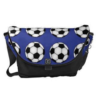 Amantes do futebol bolsas mensageiro