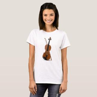 Amantes do violino, t-shirt musical dos camiseta