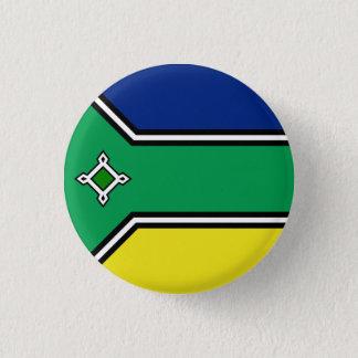 Amapá, botão brasileiro da bandeira do estado bóton redondo 2.54cm