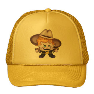 AMARELO 2 do chapéu do camionista do VAQUEIRO do Boné