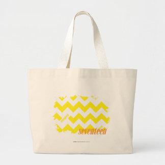 Amarelo 2 do ziguezague bolsa para compra