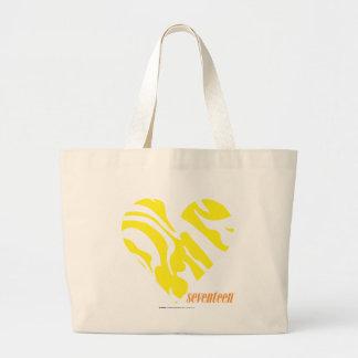 Amarelo 4 da zebra bolsa para compra