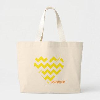 Amarelo 4 do ziguezague bolsas