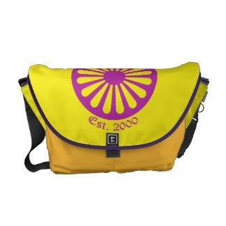 Amarelo da bolsa mensageiro de Rover