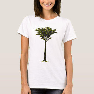 Amarelo da palmeira 2 os presentes de Zazzle do Camiseta