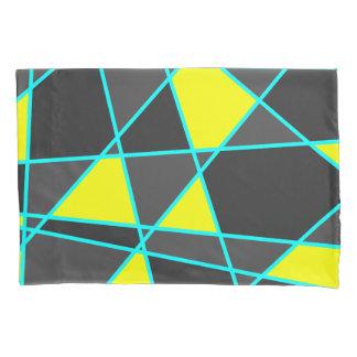 amarelo de néon brilhante geométrico elegante e