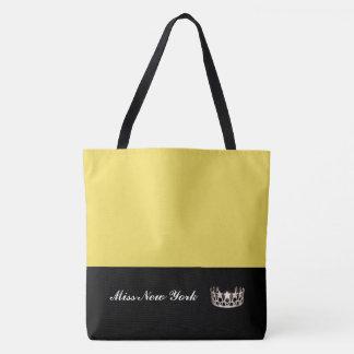Amarelo do bolsa da coroa da prata do estado da