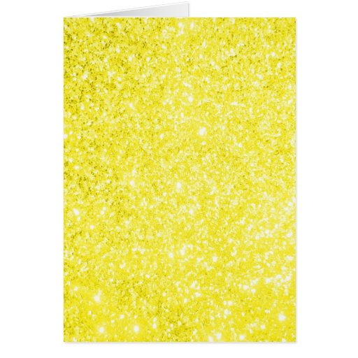 Amarelo do brilho cartão