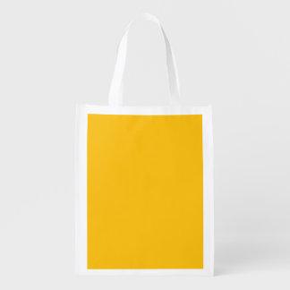 amarelo do modelo sacolas reusáveis