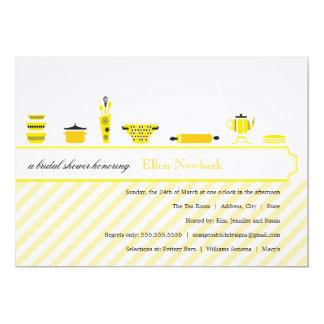 Amarelo dos chás de panela   convite 12.7 x 17.78cm