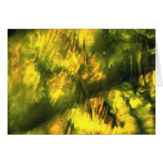 Amarelo esverdeado Mottled Cartões