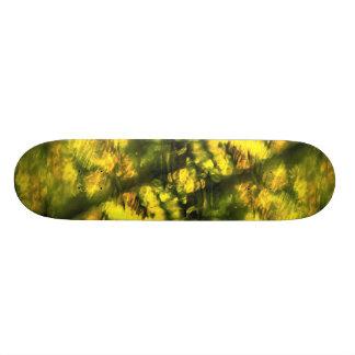 Amarelo esverdeado Mottled Skate