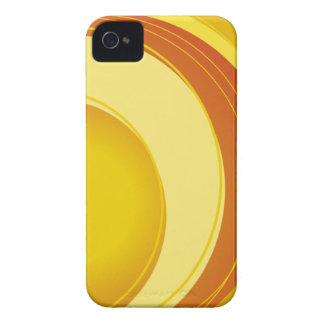 Amarelo, laranja e branco capinhas iPhone 4