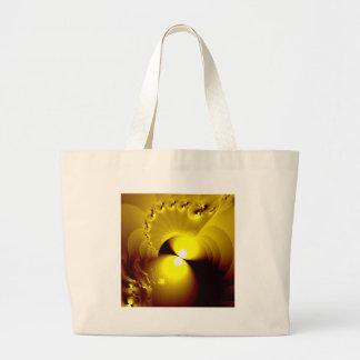 Amarelo maduro sacola tote jumbo