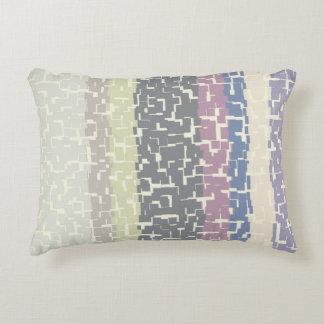 Amarelo multicolorido/cinzas/bege/rosa/roxo/azul almofada decorativa