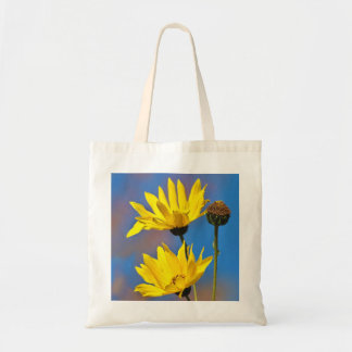 Amarelo no azul bolsa