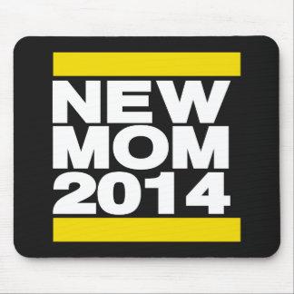Amarelo novo da mamã 2014 mouse pad
