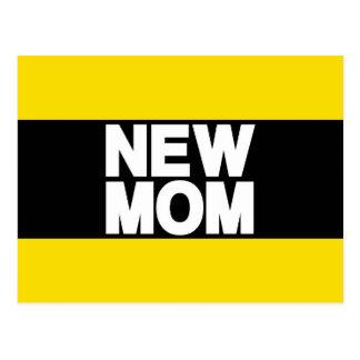 Amarelo novo do Lg da mamã Cartão Postal