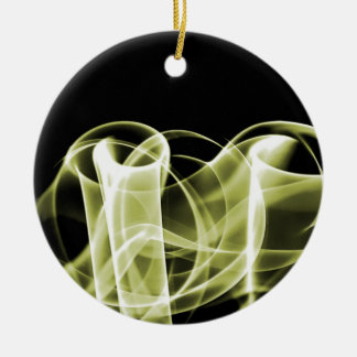 Amarelo - o arco-íris acena Collectible Ornamento Para Arvores De Natal