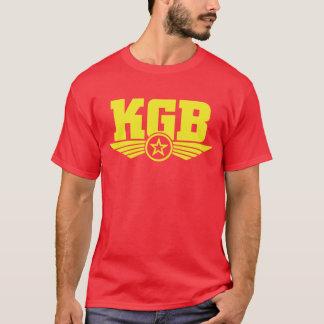 Amarelo/vermelho da camisa do russo KGB