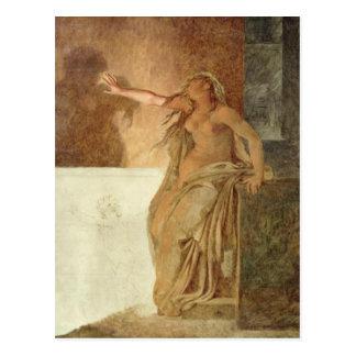 Amargura por Pierre-Narciso Guerin Cartão Postal
