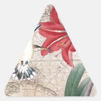 Amaryllis Mao Hummer Adesivo Triangular
