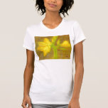 Amaryllis, o t-shirt da mulher/camisa
