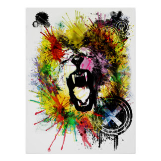 ambição dos leões pôsteres