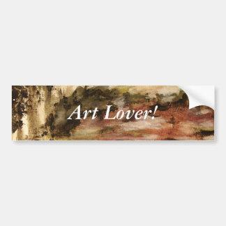 Ambíguo da pintura original adesivos