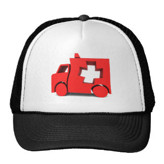ambulância boné