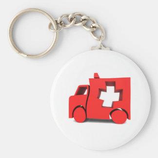 ambulância chaveiro