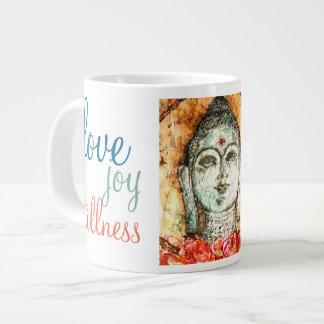 Ame a caneca de café da arte 20oz Venti de Buddha