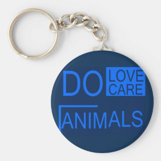 Ame animais chaveiro