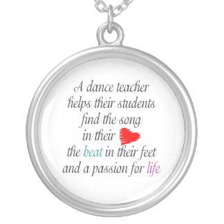 Ame ensinar a colar da dança