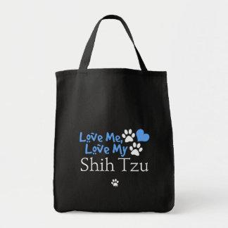 Ame-me, ame-o meu Shih Tzu Bolsa