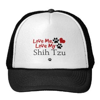 Ame-me, ame-o meu Shih Tzu Bonés