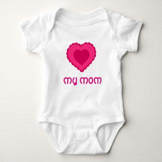 ame meu bodysuit do bebê da mamã body para bebê