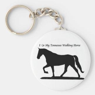 Ame meu chaveiro de passeio do cavalo de Tennessee