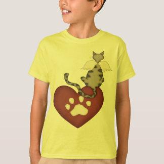 Ame meu gato mim camiseta