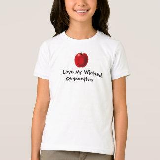 Ame minha camisa má dos miúdos da madrasta